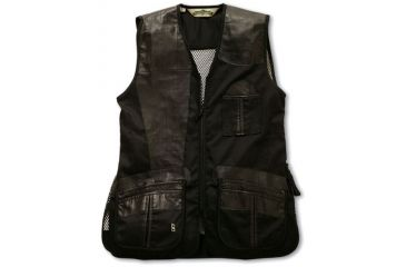 2-Bob Allen 280M Shooting Vest - Mesh Back & Leather