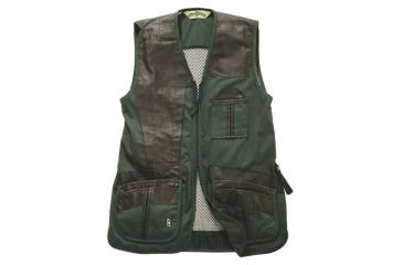 1-Bob Allen 280M Shooting Vest - Mesh Back & Leather