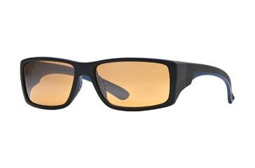 Bobby Jones BJ Jack SEBJ JACK06 Progressive Prescription Sunglasses SEBJ JACK065830 BL - Lens Diameter: 55 mm, Frame Color: Black W/ Blue Rubber, Lens Diameter: 58 mm