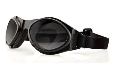7dca4963bade Bobster BugEye2 Action Eyewear Goggles w/ Black Frame, Foam Seal, Bi-focal