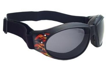 675676292d5 Bobster Cruiser Interchangeable Goggles w  Flames Black Frame