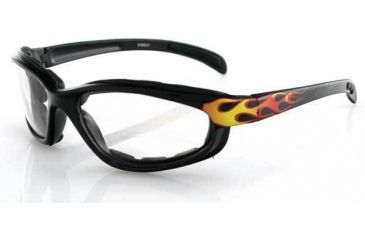 Bobster Fat Boy RX BiFocal Sun Glasses, Flames Frame, EFB001FRX-BF