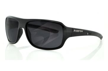 Bobster Informant Sunglasses, Shiny Blk Frame, Smoked Lens EINF001AR