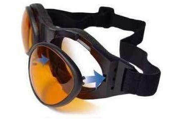 Bobster Bifocal RX Prescription Interchangeable Polycarbonate Gasket for BugEye 2 Goggles