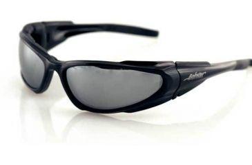 Bobster Low Rider Sunglasses, Black Frame, Reflective Lenses, ELR001R