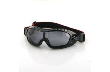 Bobster Night Hawk OTG Goggle with Smoke Anti-Fog Lenses BHAWK01
