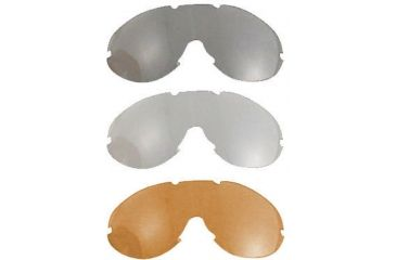4-Bobster Phoenix Interchangeable Goggle Lens Amber, Clear or Smoke