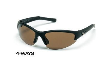 Body Specs 4-Ways Interchangeable Sunglasses w/ Smoke Lenses