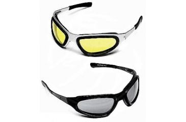 Body Specs String 8 Bit Baruffaldi Sunglasses with Aluminum Frame, Ocular-Grey Lens