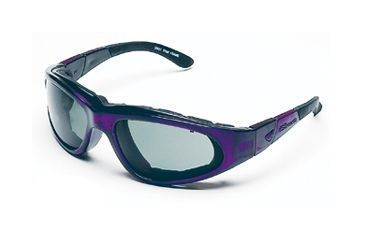 Body Specs BSG-2 Goggles, Frame & Lens Choices Purple Passion Frame / Grey Lens, w/ Clear and Light Rust Extra Lens Sets