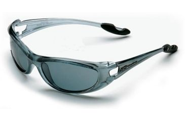 Body Specs Flavor Sunglasses w/ Crystal Gray Frame and Smoke Lenses