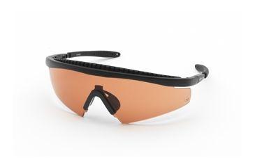 Body Specs Slings Shooting Glasses, Black Frame & Brown Lens SLINGS-BLK-BROWN