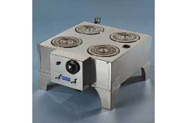 Boekel Electric Water Baths with Rings, Boekel Scientific 1493 4-Place Unit