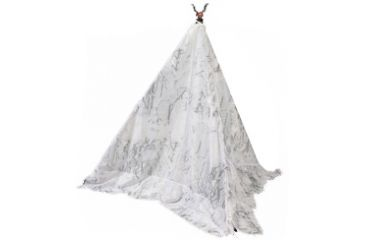 BOGgear Tripod/Bipod Lightweight Polyester Camo Cover, Snow TIPI SN