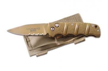 Boker USA Plus Kalashnikov Button Lock Folding Carry Knife, Desert Sand 01KALS74DES