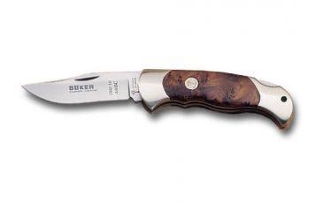 Boker USA Thuya Wood Hunter Folding Knife 112002TH