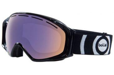 Bolle 20644 Gravity Shiny Black Polarized Aurora Ski Snowboard Goggles