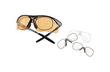 Bolle Rx Adapter for Parole and Vigilante Sunglasses - CR-39 Clear Lens