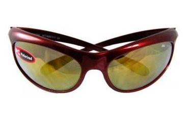Bolle Altitude Vapor Polarized Sunglasses - - Crimson Frame, Polarized Midas Lenses