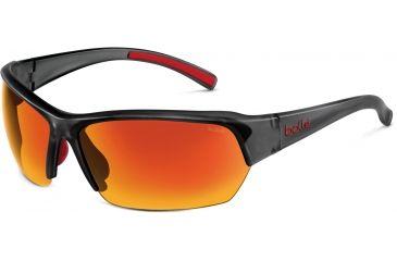 Bolle Bolle Ransom Sunglasses, Satin Crystal Grey 11696