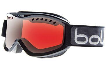 Bolle Carve Goggles, Black Frame, Vermillon Gun Lens 20786