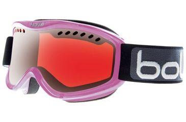 Bolle Carve Goggles, Crystal Purple Frame, Vermillon Gun Lens 20788