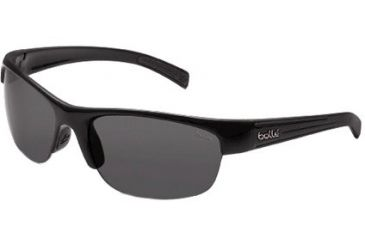 Bolle Chase Single Vision Prescription Sunglasses - Shiny Black Frame 11356RX