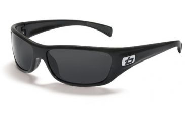 Bolle Copperhead Single Vision Prescription Sunglasses - Shiny Black Frame 11227RX