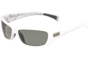 Bolle Copperhead Single Vision Prescription Sunglasses - Shiny White/Silver Frame 11684RX