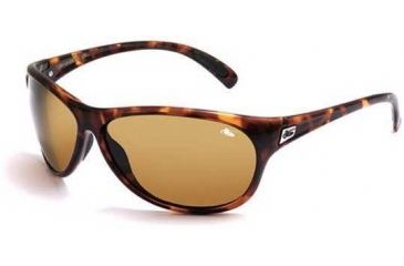 Bolle Coral Sport Sunglasses, Dark Tortoise Frame w/ TLB Dark Lenses - 10926