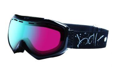 Bolle 20737 Quasar Goggles - Black Graffiti Mod Vermillion Blue