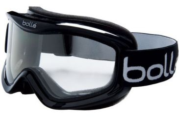 Bolle Goggles Mojo Shiny Black Frame, Clear Lens 20570