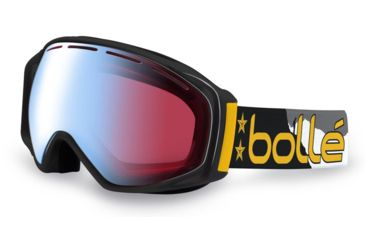 Bolle Gravity Ski/Snowboard Goggles - Athlete Signature Series Seth Wescott Frame and Modulator Vermillon Blue Photochromic Lens 21040