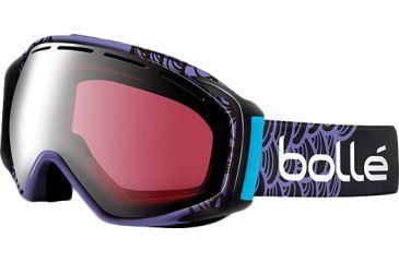 Bolle Gravity Goggles, Lindsey Jacobellis Signature Frame, Vermillon Gun Lens 20864