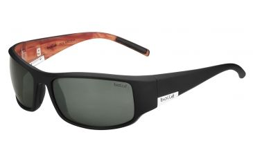Bolle King Single Vision Prescription Sunglasses, Matte Black TP9 Frame-11769SV