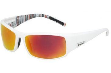 Bolle King Single Vision Prescription Sunglasses - Shiny White Frame 11688RX