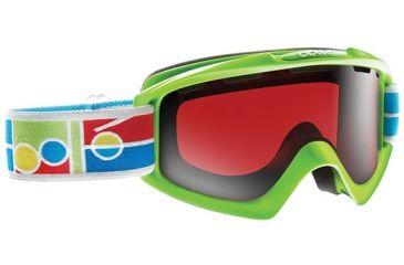 Bolle Nova Goggles, Green Frame, Vermillon Gun Lens 20840