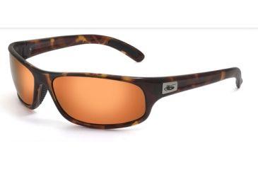Bolle Sunglasses Anaconda Dark Tortoise Frame Polarized Inland Gold Lens 11057