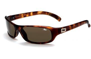 Bolle Snakes Fang Sunglasses Dark Tortoise Frame, TNS Gun Lens