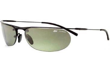 Bolle Valorium Sunglasses Matte Black Frame, Polarized Cactus Lenses 3915243063