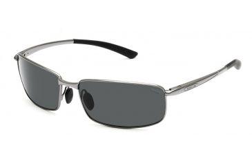 Bolle Sunglasses, Benton Shiny Gunmetal Frame TNS Lens 11564