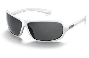 Bolle DeSoto Sunglasses 10864, White Frame, Polarized TNS Lens