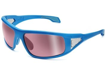 Bolle Sunglasses, Diablo Shiny Blue Frame Photo Rose Gun Lens 11556