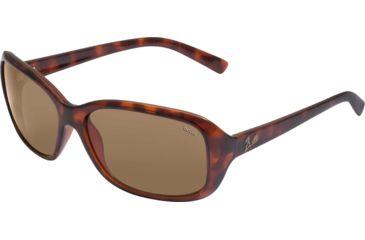 Bolle Molly Single Vision Sunglasses, Dark Tortoise Frame 11518