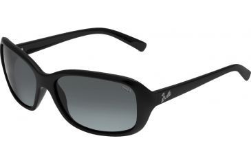 Bolle Sunglasses, Molly Shiny Black Frame Polarized TNS Lens 11511