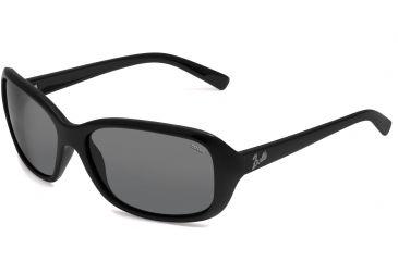 Bolle Molly Single Vision Sunglasses, Shiny Black Frame 11510