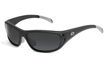 Bolle Sunglasses, Ouray Satin Dark Gray Frame Polarized TNS Lens 11542
