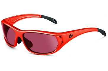 Bolle Sunglasses, Ouray Shiny Orange Frame Photo Rose Gun Lens 11544