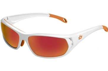 Bolle Ouray Single Vision Sunglasses, Shiny White Frame 11543