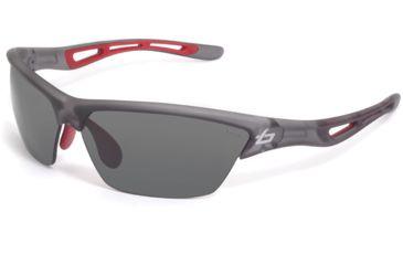 Bolle Sunglasses, Tempest Satin Crystal Gray Frame TNS Lens 11484
